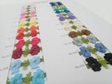 Color Card #9800 / Acrylic Garland