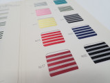 Color Card #1615 / Striped Satin