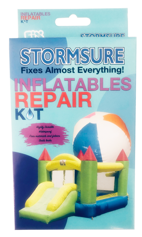 Stormsure Inflatables Repair Kit for bounce house, beach balls, inflatable kiddie pools, pool toys, etc.