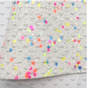 21x29cm, Neon Chunky Glitter Fabric, Glitter Synthetic Leather, Glitter Sheets, Rainbow Fabric, Colorful Chunky Leather, Holiday Leather Sheet, DIY Hair Bows, 1 PIECE (100)