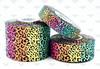Cheetah Ribbon, US Designer Ribbon, Rainbow Ribbon, Tiger Ribbon, Animal Print Ribbon, Heat Transfer, Lanyard Ribbon, Hair Bow Ribbon, Wholesale Ribbon, PER YARD