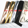 21x29cm, (A4), Mirror Leather Sheets, Smooth Patent Fabric, Metallic Faux Leather Sheets, Synthetic Leather Fabric, Jelly Sheet, 1 PC