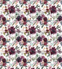 """8x12"""", Flowers Leather Sheets, Floral Leather, Custom Printed Leather, Boho Leather, Plum Floral Leather, Synthetic Leather, Faux Leather, DIY Hair Bows"""