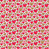 """8x11"""", Valentine's Leather Sheets, Custom Made Leather, Gold Hearts Synthetic Leather, Red Hearts Leather, Holiday Print Leather, Printed Leather, Faux Leather, Synthetic Leather, DIY Leather Hair Bows"""