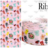 CUSTOM PRINTED RIBBON.  PRINTED IN THE USA. THIS IS FOR 2 YARDS