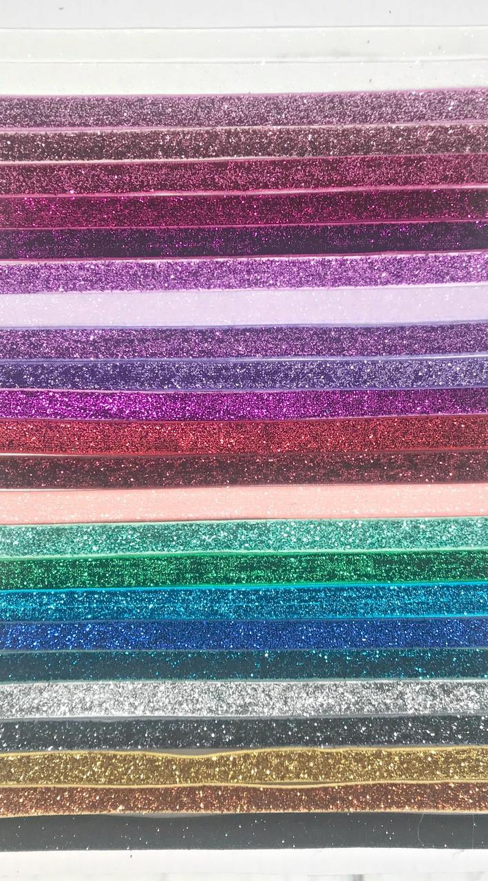 Glitter Elastic-Glitter Foe-Metallic Glitter Elastic