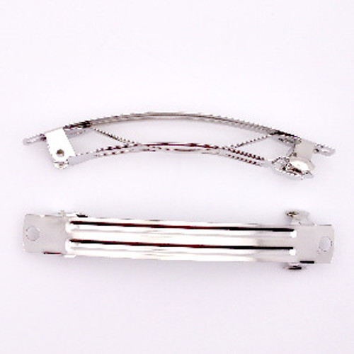 double prong clips,hair alligator clips metal clips clip 35*11mm jz25 square silver clips barrette clips 20pcs 1/'38 hair clips