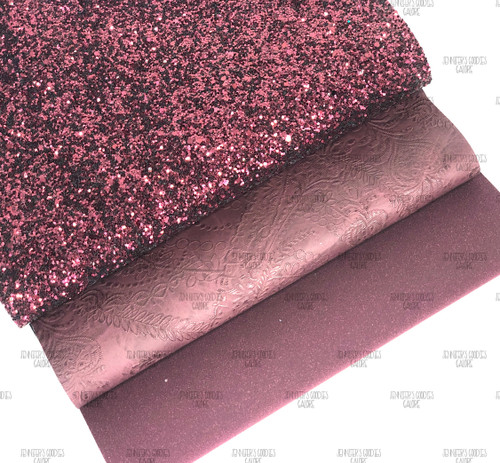 """21x29cm (A4 Size 8x11.8""""), Glitter Fabric, WINE Synthetic Leather, Wool Leather Sheets, WINE Glitter, Embossed Leather Fabric, DIY Leather Bows, 1 Sheet"""