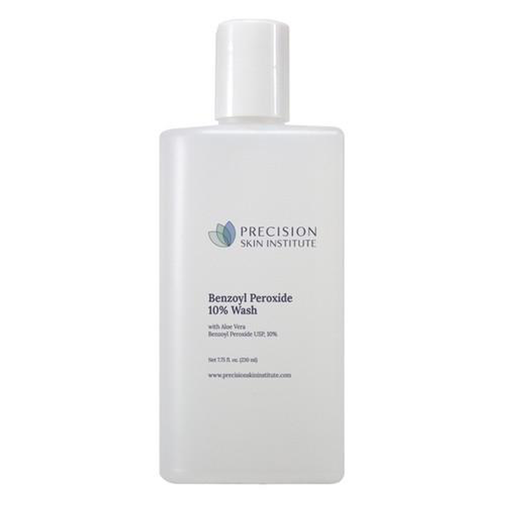 PSI Benzoyl Peroxide 10% Wash With Aloe
