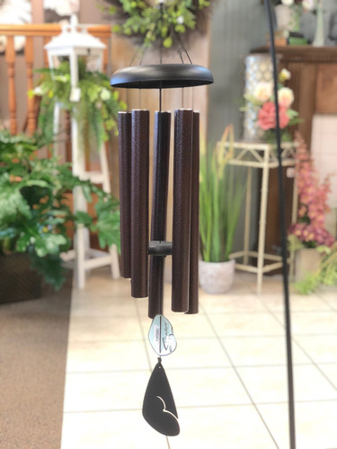 "Wind Chime 36"" Solid - Available in Red, Green & Blue (LOCAL DELIVERY ONLY) Stand not included"