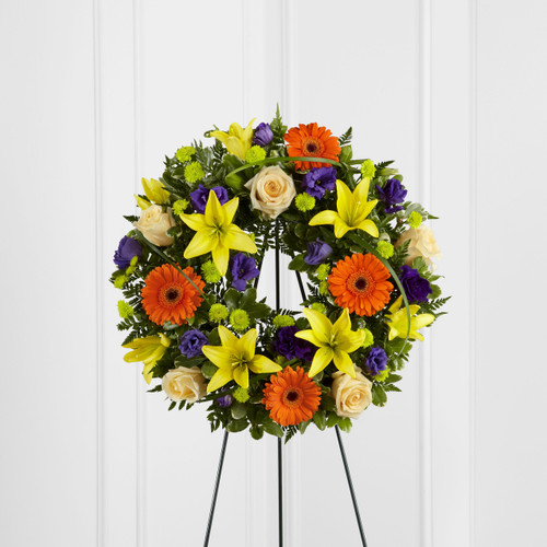 The Radiant Remembrance Wreath
