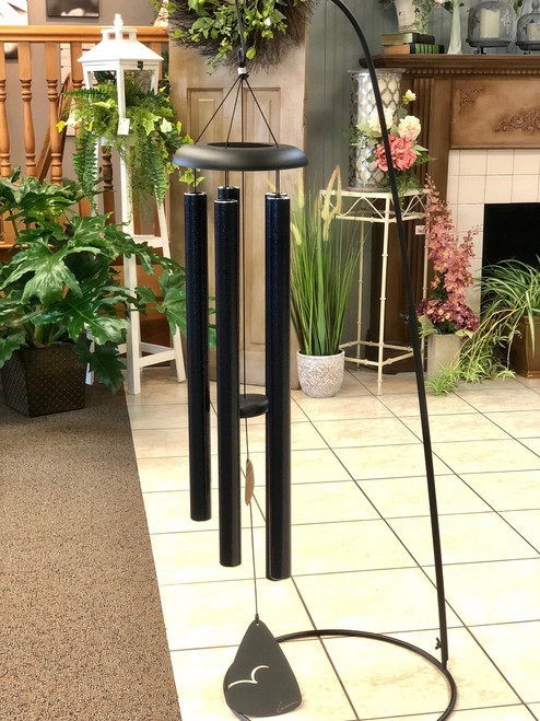 """Wind Chime 50"""" Solid Color - Available in Red, Green & Blue (LOCAL DELIVERY ONLY) Stand not included"""