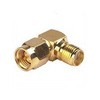 SMA Male to Female Right Angle Adapter
