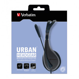 Verbatim School Multimedia Headset with Microphone Volume Control