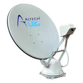 Altech UEC ST85  Self Pointing Motorised Satellite Dish Vast Foxtel TV Caravan