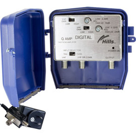 HIILLS UHF/VHF 'F' TYPE MASTHEAD AMP AMPLIFIER MHQAMP