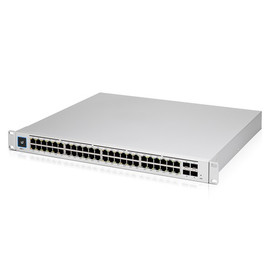 Ubiquiti UniFi 48 port Managed Gigabit Layer2 and Layer3 switch with auto-sensing 802.3at PoE+ and 802.3bt PoE, SFP+ : Touch Display - 660W GEN2