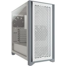 Corsair Carbide Series 4000D Airflow ATX Tempered Glass White, 2x 120mm Fans pre-installed. USB 3.0 x 2, Audio I/O. Case NDA Sep 16