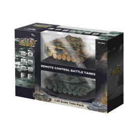 R/C Battle Tanks - Twin Pack