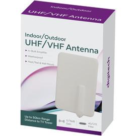 Slimline Indoor/Outdoor UHF/VHF Digital TV Antenna