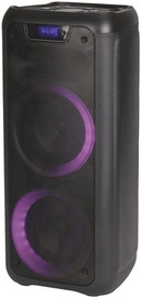 """Dual 6.5"""" Rechargeable PA Speaker with LED"""