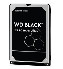 """Western Digital WD Black 1TB 2.5"""" HDD SATA 6gb/s 7200RPM 64MB Cache SMR Tech for Hi-Res Video Games"""
