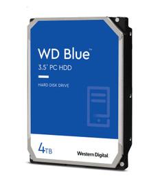 "Western Digital WD Blue 4TB 3.5"" HDD SATA 6Gb/s 5400RPM 256MB Cache CMR Tech"