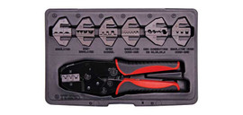 Crimp tool Ratchet Multi-Connector Universal Kit