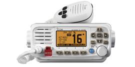 ICOM IC-M330GE-W WHITE FIXED MOUNT VHF/DSC MARINE RADIO WITH EXTERNAL GPS