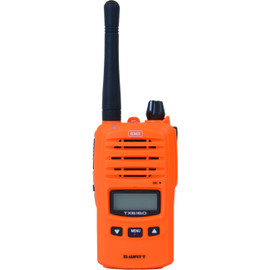 GME TX6160XO ORANGE 5W IP67 UHF CB HANDHELD BASE MODEL