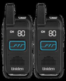 Uniden UH200-2 2 Watt  Handheld UHF CB Radio SET of TWO