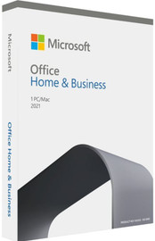 Microsoft Office Home and Business 2021 English APAC Medialess PC/MAC