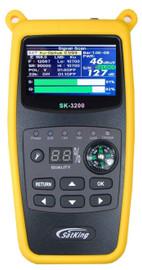 "Satking SK-3200 VAST Satellite TV Finder Meter VAST Compliant MPEG4 2.4"" Screen"