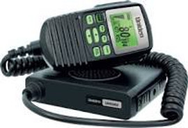 UNIDEN UH5060 Mini Compact Size UHF CB Mobile – 80 Channels with Remote Speaker MIC and Large LCD Screen