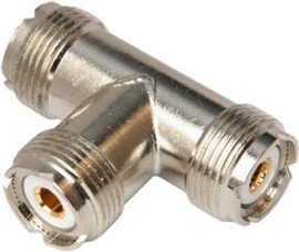 UHF SOCKET SO239 'T' ADAPTOR PACK OF 5