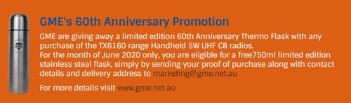 GME's 60th Anniversary Promotion