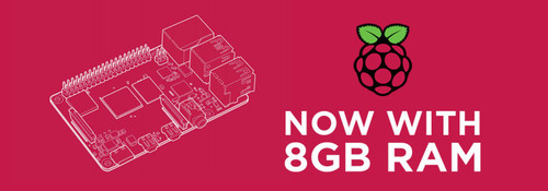 Raspberry Pi 4 8GB Board is Coming!