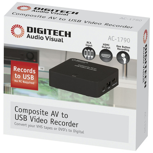 Composite AV to USB Video Recorder