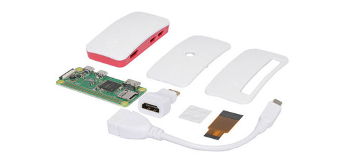 Raspberry Pi Zero W Starter Kit with official Case