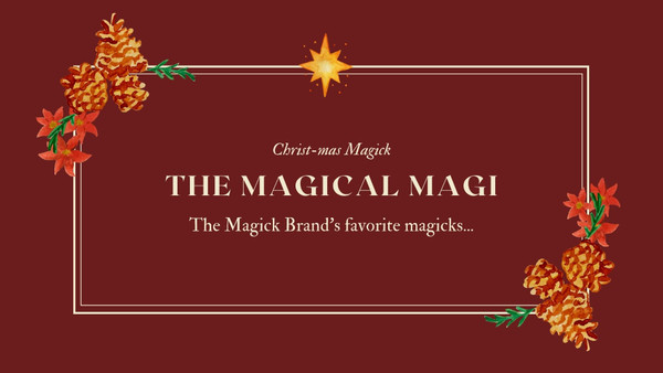 Magickal Holiday Gift  Guide...
