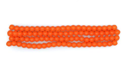 8mm Bio Eggs - Orange - 50ish per pack