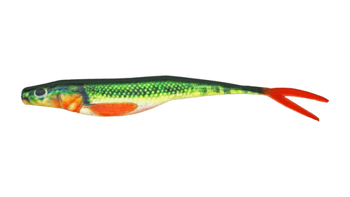 """BioBait DNA - 5.00"""" Switchback - Red Tail Chub - 6 per pack"""