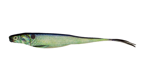 "BioBait DNA - 5.00"" Switchback - Gizzard Shad- 6 per pack"