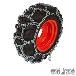 Small Tractor & Snow Blower Tire Chains