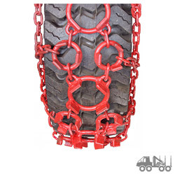 Forestry Equipment Tire Chains