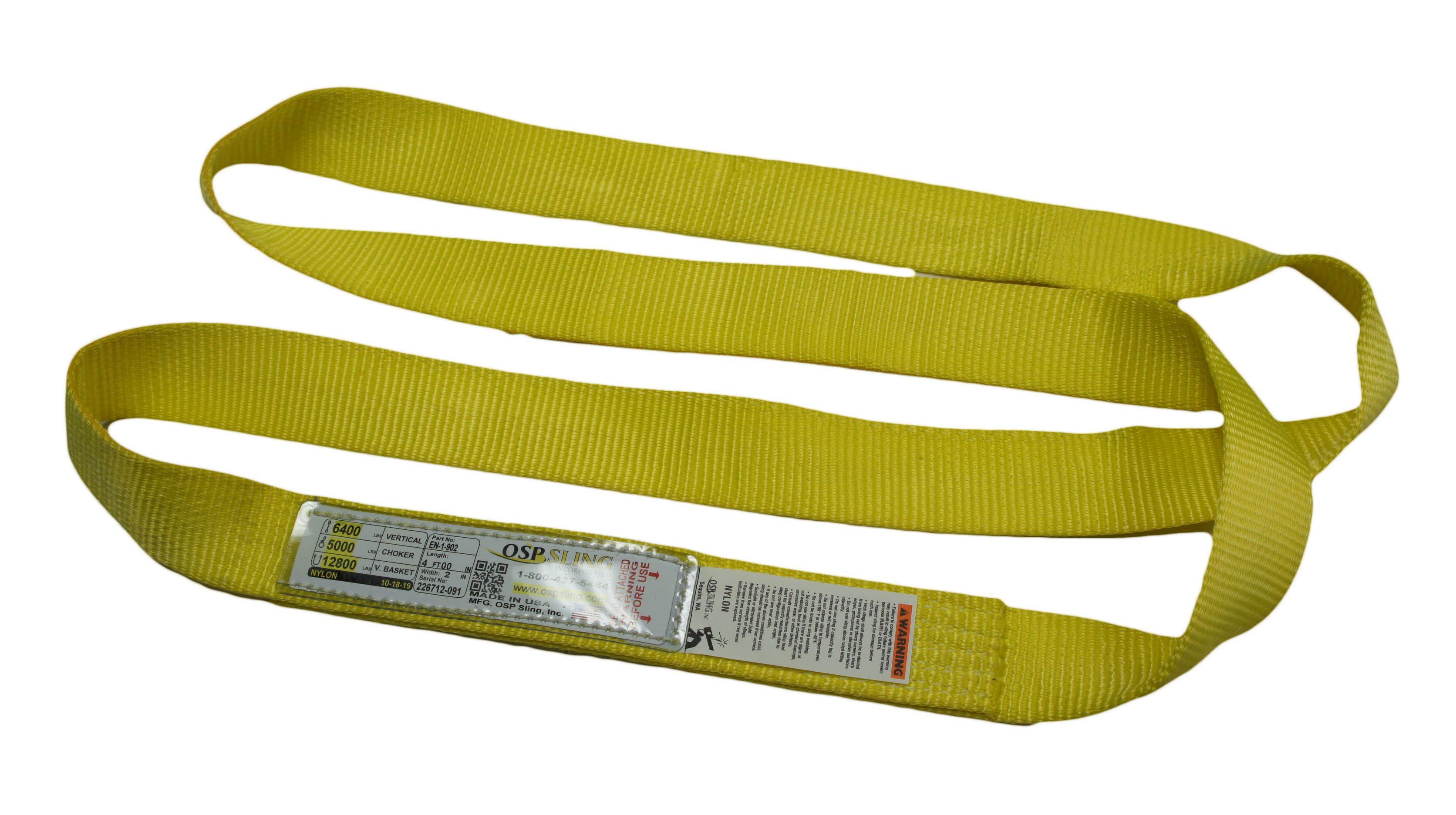 Nylon Lifting Slings - Endless Type Configuration