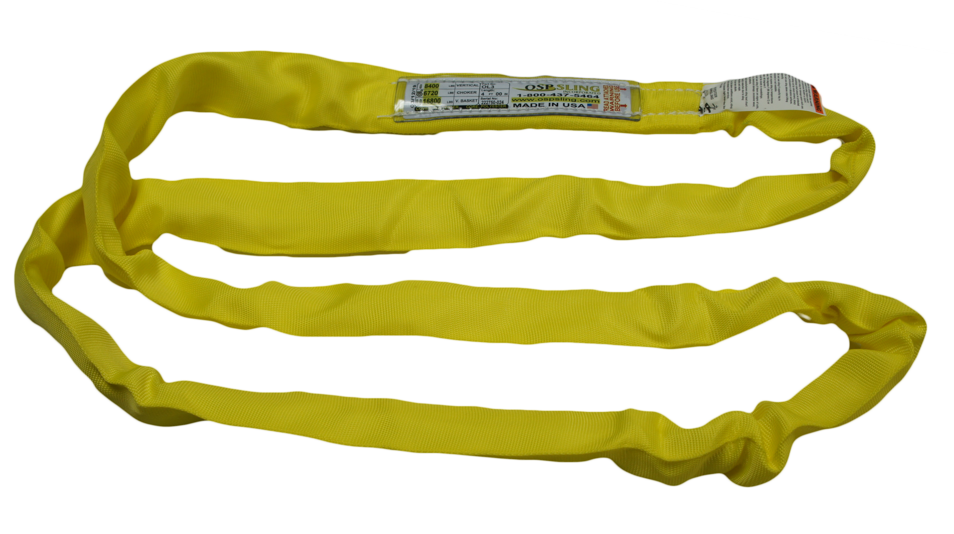 Polyester Round Lifting Slings - Endless Type Configuration