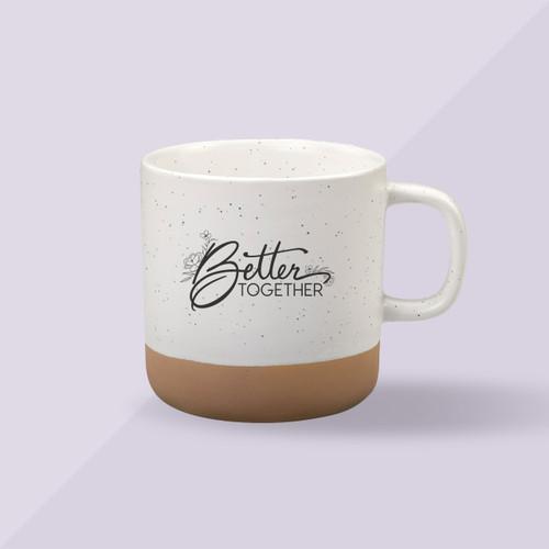 Better Together Confetti Mug - Crème