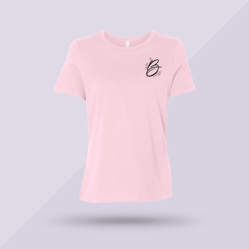 Better Together Jersey Tee - Pink - Front
