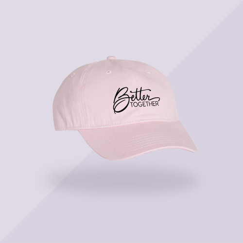 Better Together Signature Hat - Pink - Front